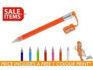 Jumbo Pencil with Sharpener